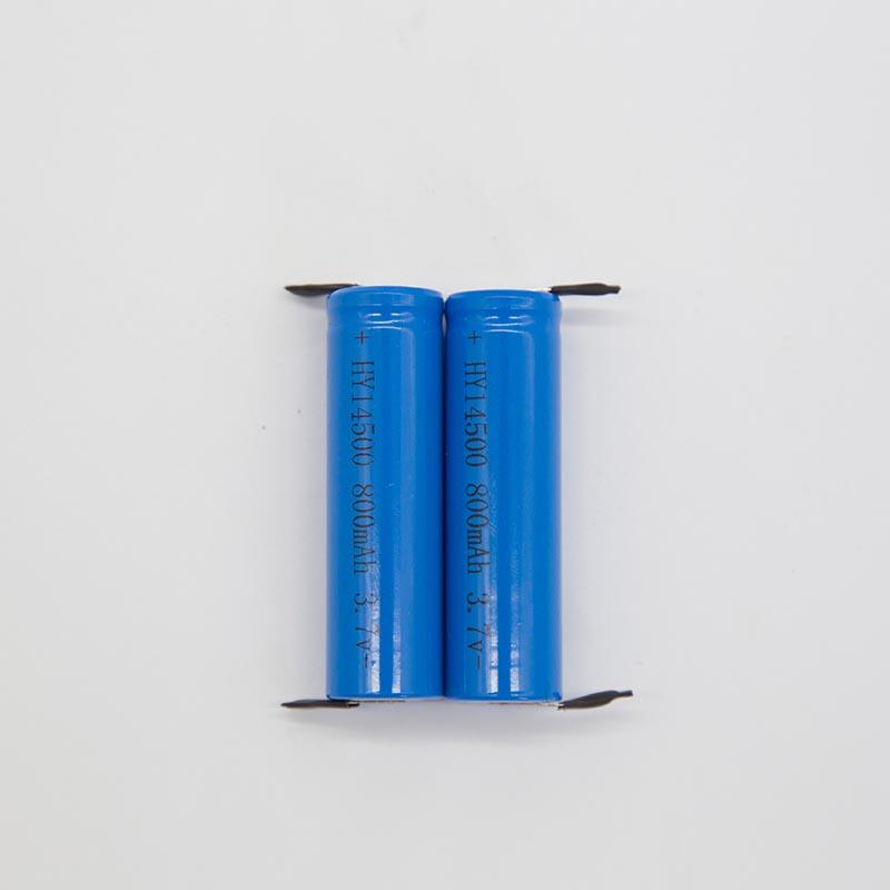 锂电池HY14500/800mAh   (剃须刀专用)
