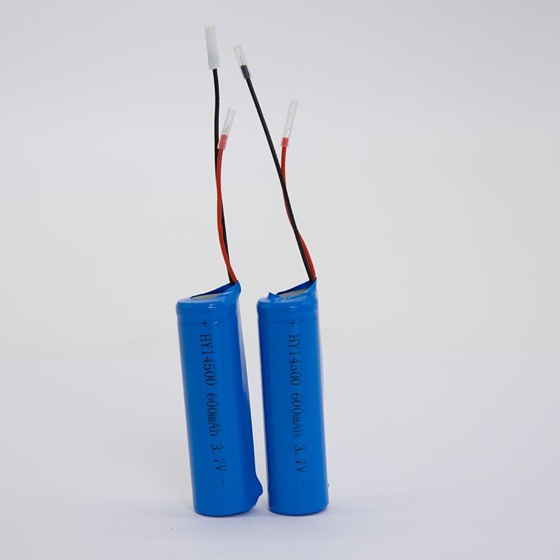 锂电池HY14500/600mAh