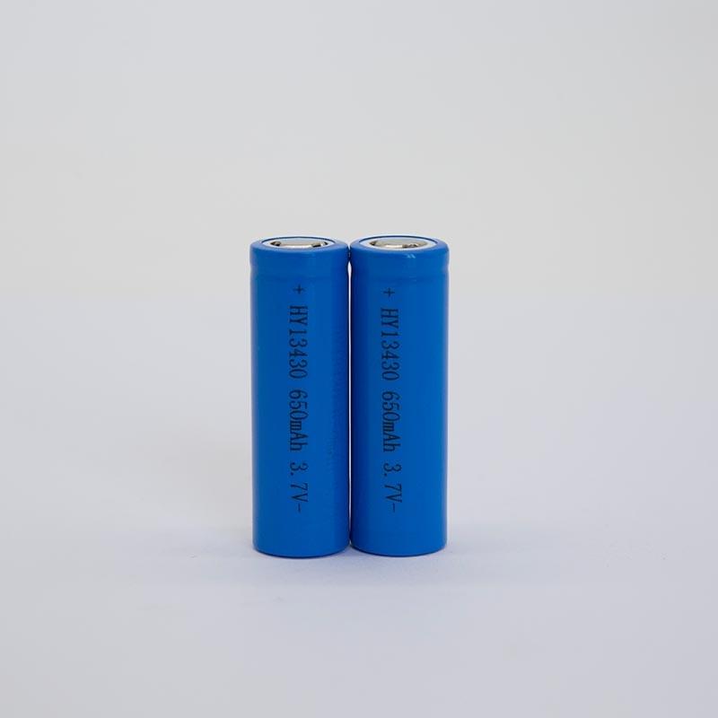 锂电池HY13430/650mAh