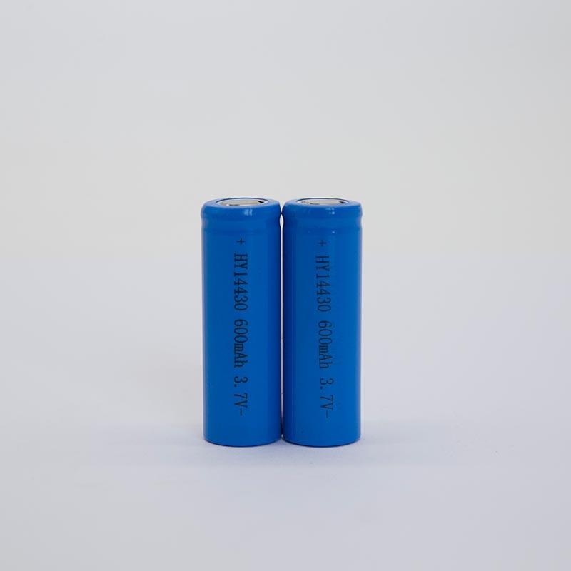 锂电池HY14430/600mAh