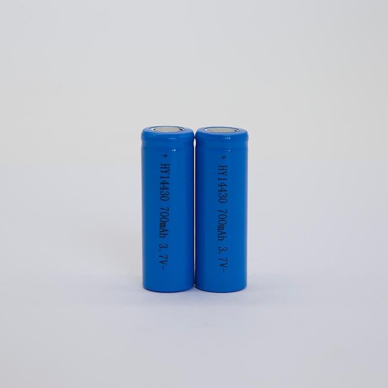 锂电池HY14430/700mAh