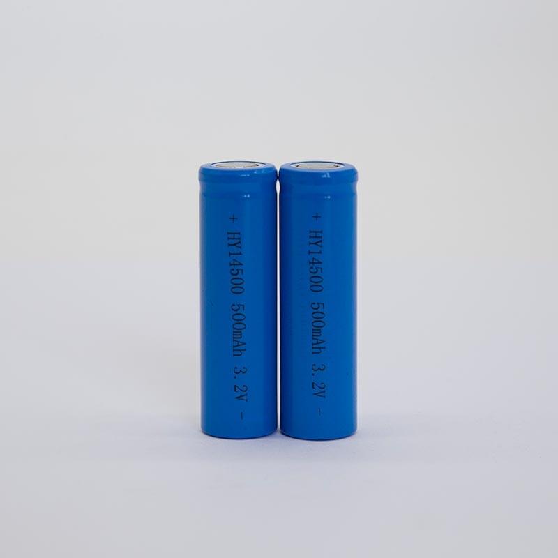 锂电池HY14500/500mAh