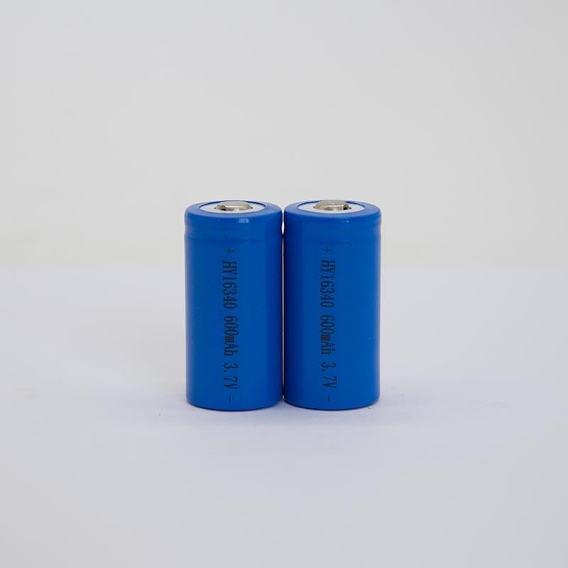 锂电池HY16340/600mAh