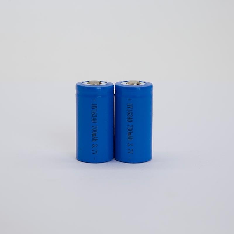 锂电池HY16340/700mAh