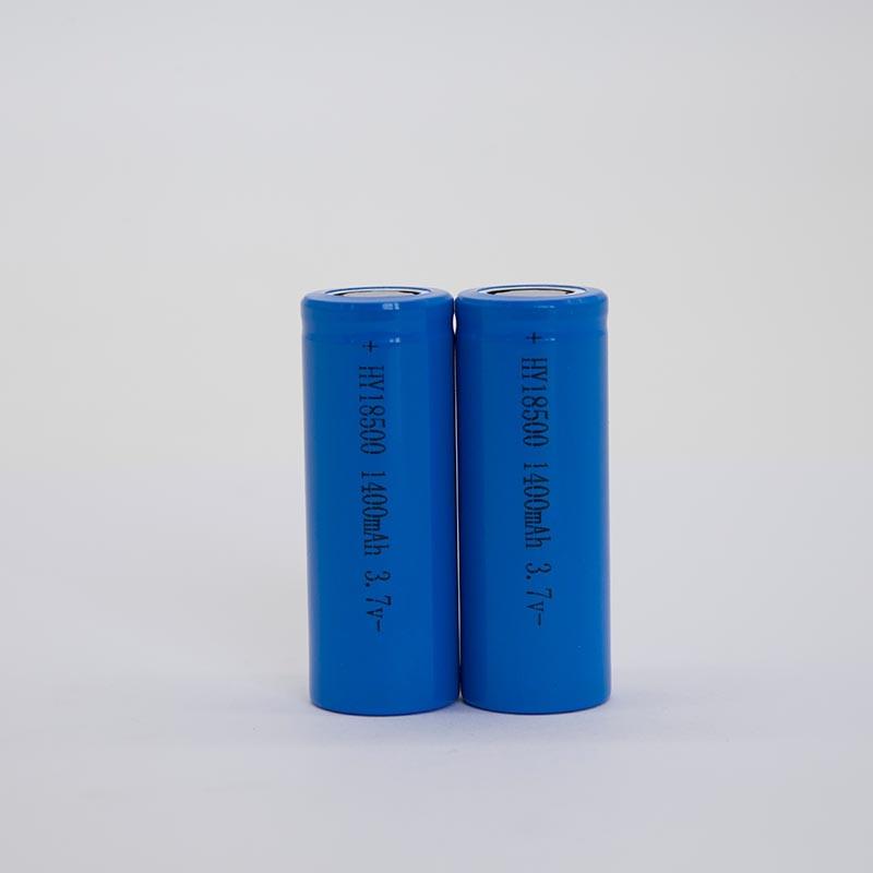 锂电池HY18500/1400mAh